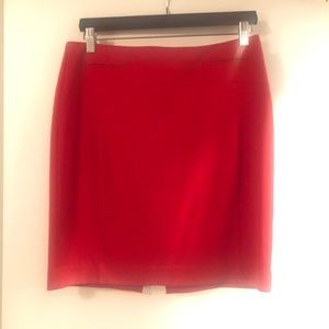 Red Express Skirt Size 8